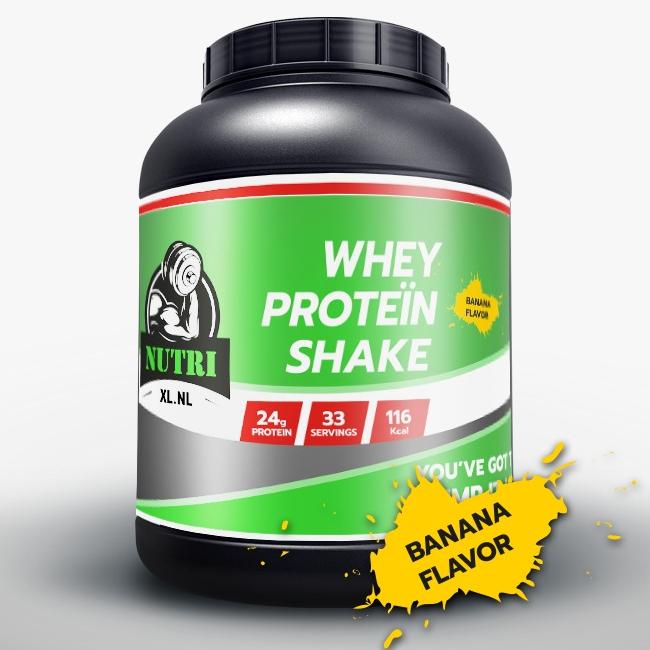 NutriXL Whey Proteïne - Bananen Smaak