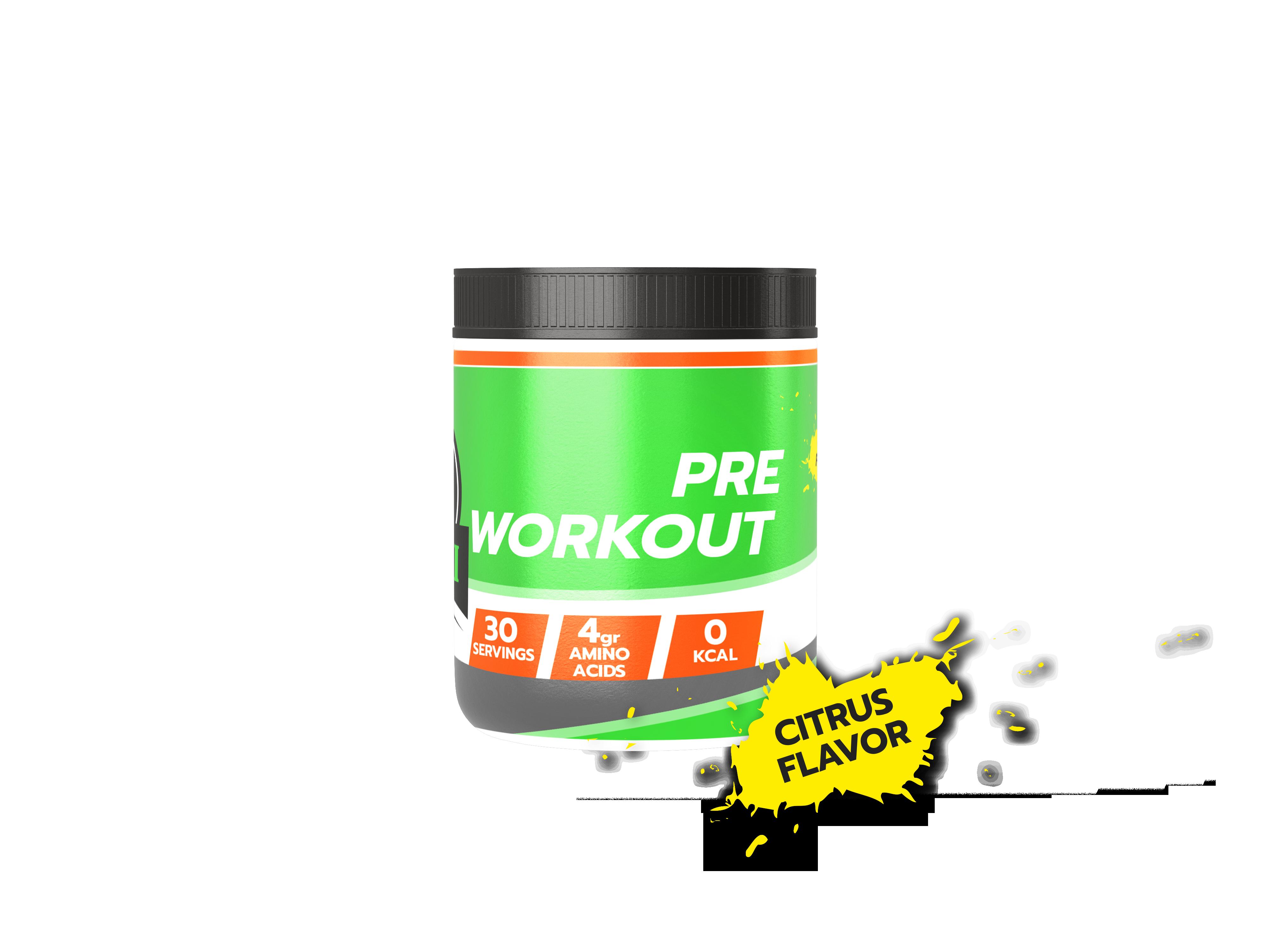Pre Workout Citrus