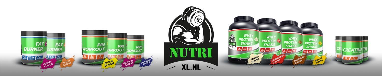 NutriXL pre-workout shakes