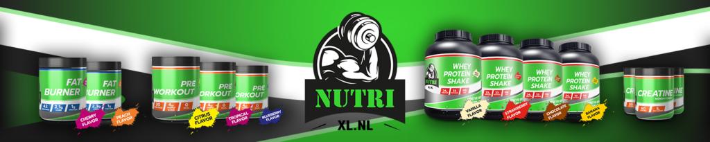 Mijn account pagina bij NutriXL