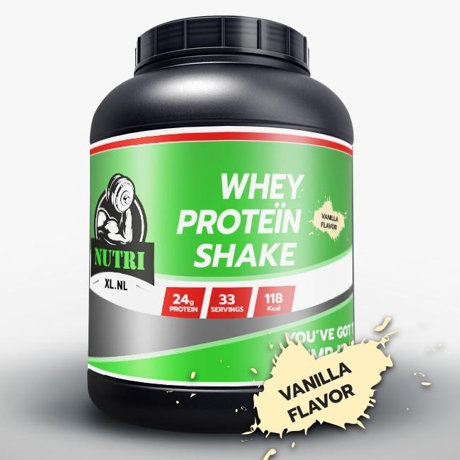 NutriXL Whey Proteïne - Vanille Smaak